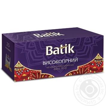 Чай черный Batik высокогорный 25пак - купить, цены на Novus - фото 1