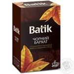 Чай Batik чорний бархат 90г