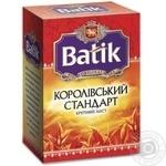 Чай черный Batik Royal Standard крупнолистовой 50г