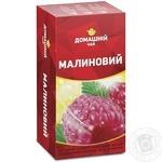 Чай Малиновый Домашний чай черный 1.5г х 20шт
