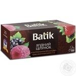 Batik Black Tea Berry Kiss in teabags 25pcs*1,5g