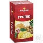 Чай Тропические Фрукты Домашний чай черный 1.5г х 20шт
