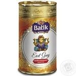Чай Батік Ерл грей чорний листовий з ароматом бергамоту 100г