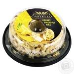 Сир-крем Arla Castello з ананасом 65%