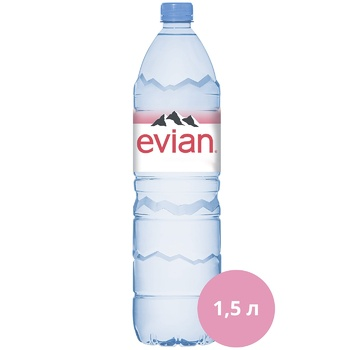 Evian Mineral Still Water 1,5l - buy, prices for CityMarket - photo 1