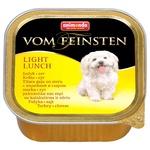 Animonda Vom Feinsten Adult Turkey-Cheese Wet Food for Dogs 100g