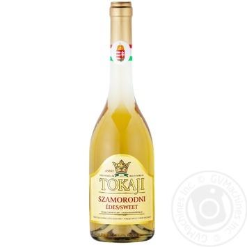 Вино Chateau Dereszla Tokaji Szamorodni белое сладкое 12% 0.5л - купить, цены на СитиМаркет - фото 1