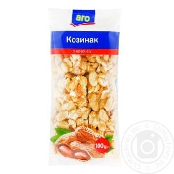 Козинак Aro арахісовий 100г - купити, ціни на Метро - фото 1
