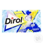 Dirol X-fresh Sugar-Free Freshness of Bilberry and Citrus Fruits Chewing Gum 18g