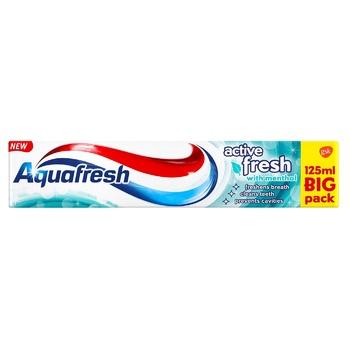 Зубная паста Aquafresh Activ Fresh with Mentol 125мл - купить, цены на СитиМаркет - фото 1