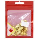 Кнопки металлические Klerk 100шт золотистые
