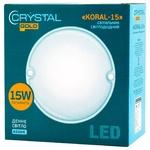 Світильник Crystal Gold Led Koral-15 15W 6500K DNL-030