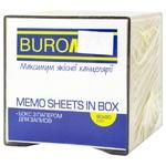 BuroMax Smoky Box with White Paper 90x90x90mm