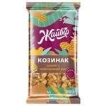 Козинак Жайвир Арахисовый с воздушным рисом, облепихой и медом 60г