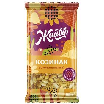 Козинак Жайвір соняшниковий 60г - купити, ціни на МегаМаркет - фото 1