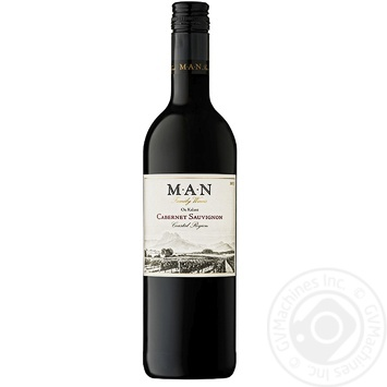 Man Our kalant Cabernet Sauvignon Wine Red Dry 750ml - buy, prices for Furshet - image 1