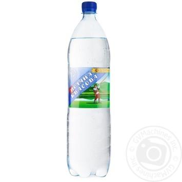 Вода Поляна Квасова сильногазированная лечебно-столовая 1,5л - купить, цены на Novus - фото 1