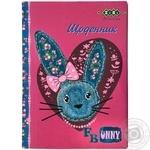 """Щоденник шкільний В5 дизайн для дівчат тверда обкладинка сендвіч"""" ZB17.1380 ZiBi 48аркушів"""""""