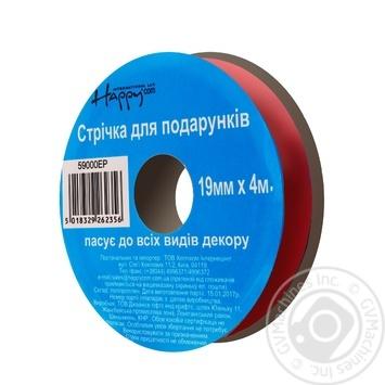 Happycom Decorative Ribbon Metalic 19mm*4m assortment - buy, prices for Auchan - photo 6