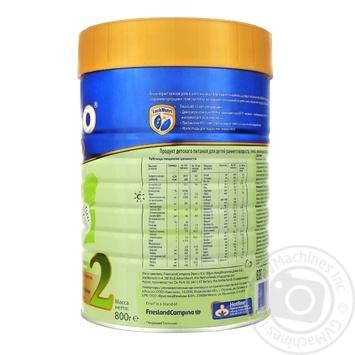 Смесь сухая молочная Friso Gold 2 для детей с 6 до 12 месяцев 800г - купить, цены на Novus - фото 2