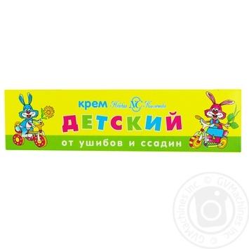 Крем Невская косметика детский от ушибов и ссадин 40мл - купить, цены на Ашан - фото 1