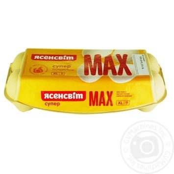 Яйца куриные Ясенсвит Супер Макс С0 10шт - купить, цены на Novus - фото 3