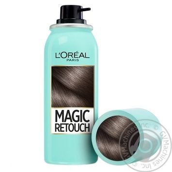 L'Oreal Magic Retouch Spray toning dark brown for instant coloring of adult hair roots 75ml - buy, prices for Novus - image 5
