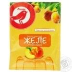 Auchan jelly with peach taste 90g