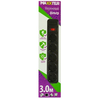 Maxxter Line Filter SPM5-G-10 - buy, prices for Auchan - image 1