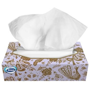 Zewa Softis Napkins cosmetic 4 layers of 80 pieces - buy, prices for CityMarket - photo 4