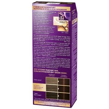 Schwarzkopf Palette Intensive Color Creme W2 (3-65) Dark Chocolate - buy, prices for CityMarket - photo 3
