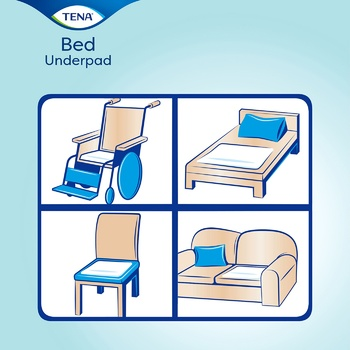 Tena Bed Normal Diapers 60x60 30pcs - buy, prices for Metro - image 2
