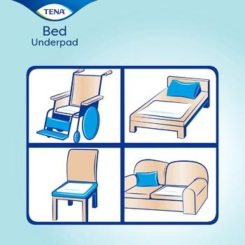 Пеленки влагопоглощающие Tena Bed Normal 60х90см 30шт - купить, цены на Восторг - фото 2