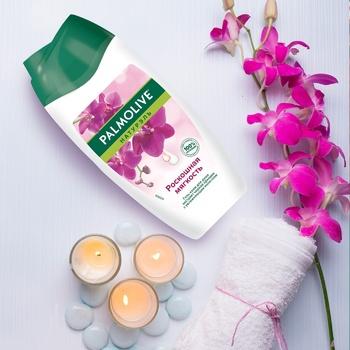 Гель-крем для душа Palmolive Натурель Розкішна м'якість Чорна орхідея і зволожуючу молочко 250мл - купити, ціни на Ашан - фото 6