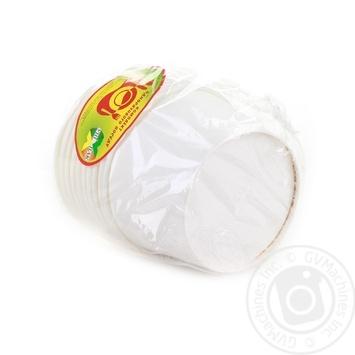 Миска Уніпак супова паперова біла 500мл 10шт - купити, ціни на Ашан - фото 3