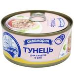 Тунец Аквамарин для салатов в масле 185г