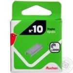 Auchan Staples For Stapler №10 2000pcs