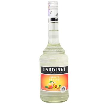Ликер Bardinet Персик 18% 0,7л - купить, цены на Метро - фото 1