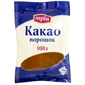 Какао-порошок Мрія 100г