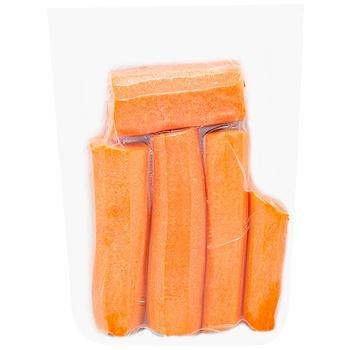 Морковь очищеная мытая 500г