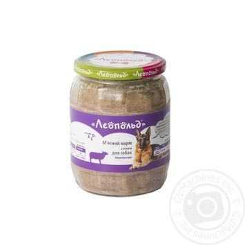 Leopold Meat Ration Wet Food with Lamb for Dogs 460g - buy, prices for Furshet - image 2