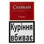 Цигарки Chapman Cherry 20шт - купити, ціни на Ашан - фото 1