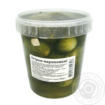 Огірки мариновані 1000г - купить, цены на Novus - фото 2