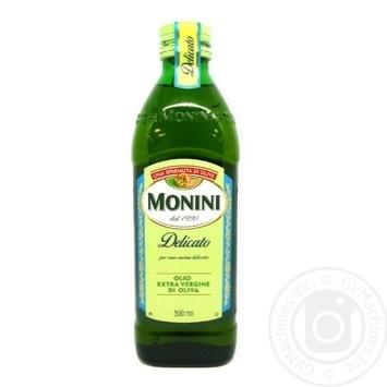 Масло оливковое Monini Extra Virgin Delicato 500мл