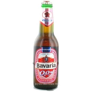Пиво Баварія безалкогольне 250мл скляна пляшка