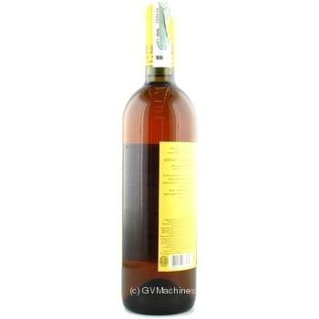 Вино біле Масандра Мускат Таврійський ординарне кріплене десертне солодке 16% скляна пляшка 750мл Україна - купити, ціни на Ашан - фото 5