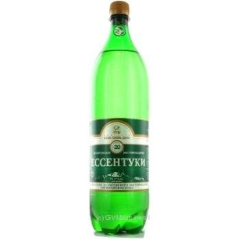 Вода Ессентуки № 20 лечебно-столовая пластиковая бутылка 1500мл Россия