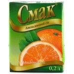 Juice Smak orange 200ml tetra pak Ukraine