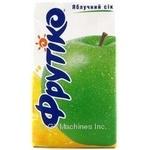 Сок Фрутико яблочный восстановленный осветленный тетрапакет 1000мл Украина