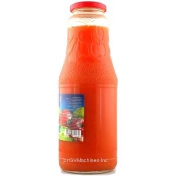 Сок Дары Ланив Здоровье морковно-яблочный стерилизованный стеклянная бутылка 1000мл Украина - купить, цены на Novus - фото 2